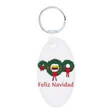 Colombia Christmas 2 Keychains