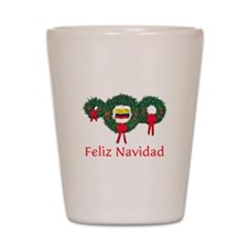 Colombia Christmas 2 Shot Glass