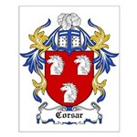 Corsar Coat of Arms Small Poster
