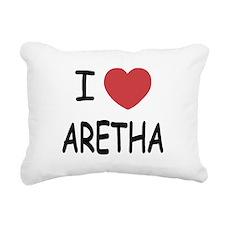 ARETHA.png Rectangular Canvas Pillow