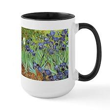 Irises by Vincent van Gogh Ceramic Mugs