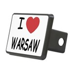 WARSAW.png Rectangular Hitch Cover