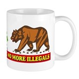 No More Illegals! Small Mug