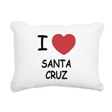 SANTACRUZ.png Rectangular Canvas Pillow