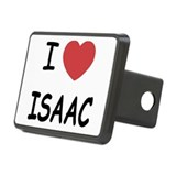 I heart ISAAC Rectangular Hitch Cover
