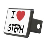 I heart STEPH Rectangular Hitch Cover