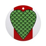 Midrealm Dragon's Heart medallion