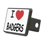 BADGERS.png Rectangular Hitch Cover