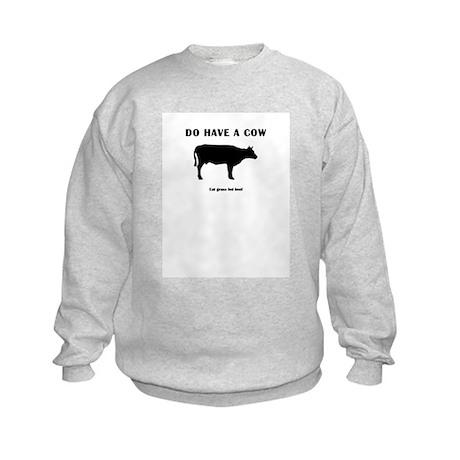Do Have A Cow Kids Sweatshirt