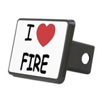 FIRE.png Rectangular Hitch Cover