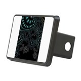 Black Ivy Fractal Hitch Cover