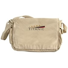 Sinking Titanic Messenger Bag