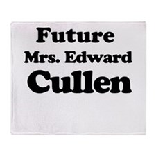 Future Mrs. Edward Cullen Throw Blanket