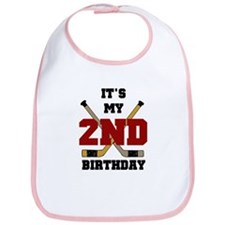 Hockey 2nd Birthday Bib