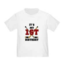 Hockey 1st Birthday T