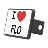 I heart Flo Rectangular Hitch Cover