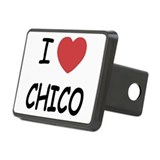 I heart Chico Rectangular Hitch Cover