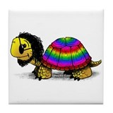 Sixties Turtle Ceramic Tile Coaster