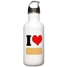 I heart Twinkies Sports Water Bottle