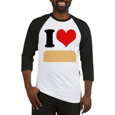 I heart Twinkies Baseball Jersey