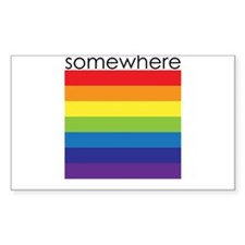 somewhere over the rainbow Decal
