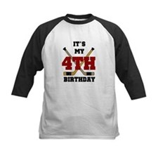 Hockey 4th Birthday Tee