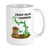 Bean counter Coffee Mugs