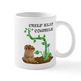 Bean counter Coffee Mugs