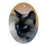 Siamese Ornament oval Ornament (Oval)