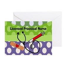 LPN tote.PNG Greeting Card