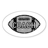 Football Coach Decal