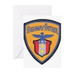 Highway Patrol Greeting Cards (Pk of 10)