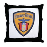 Highway Patrol Throw Pillow