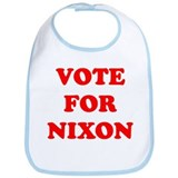 Vote For Nixon Bib