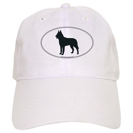 Belgian Malinois Silhouette Cap