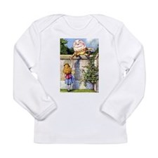 Alice and Humpty Dumpty Long Sleeve Infant T-Shirt