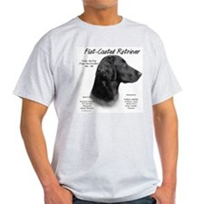 Flat Coat Ash Grey T-Shirt