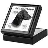 Flat Coat Keepsake Box