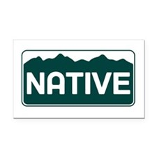 CO - Colorado - Native Rectangle Car Magnet