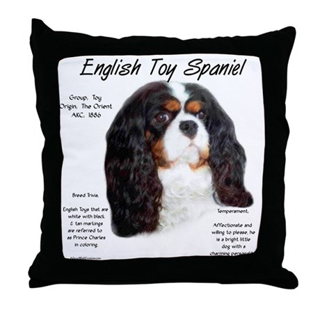 Prince Charles English Toy Throw Pillow