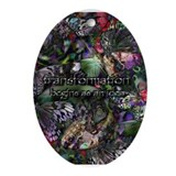 Butterfly Transformation Ornament (Oval)