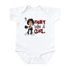 Fight Like a Girl 42.8 Narcolepsy Infant Bodysuit