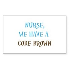 CodeBrownNurse.psd Stickers