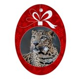 Jett Christmas Ornament (Oval)