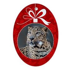 Jett Christmas Ornament (Oval)