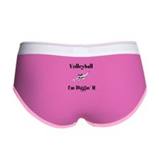 Volleyball I'm Diggin' It Women's Boy Brief