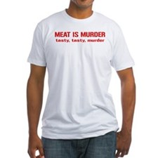 Meat Is Tasty Tasty Murder Shirt