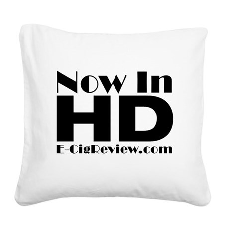 HD Square Canvas Pillow