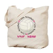 Personalized Volleyball Tote Bag