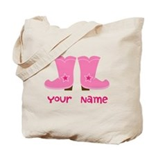 Personalized Cowgirl Tote Bag